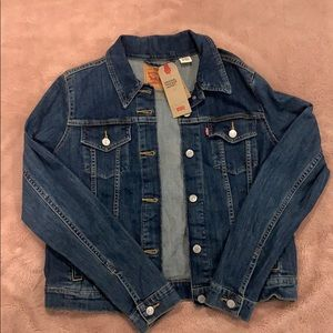 Brand new Levi's denim jacket